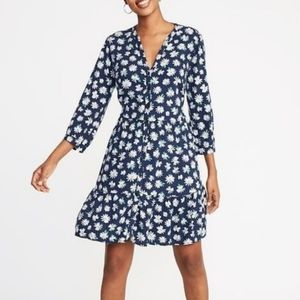 Old Navy Blue Daisy Dress